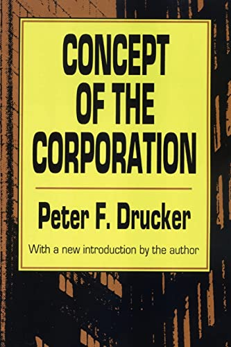 9781560006251: The Concept of the Corporation