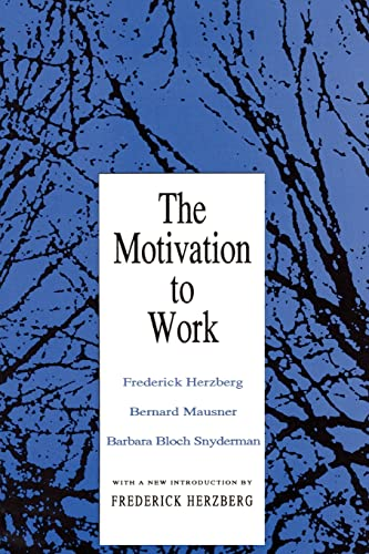 9781560006343: The Motivation to Work