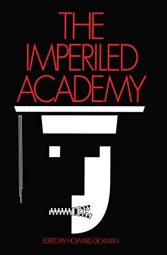 9781560006756: The Imperiled Academy (STUDIES IN SOCIAL PHILOSOPHY AND POLICY)