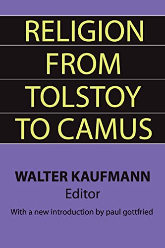 9781560007067: Religion from Tolstoy to Camus