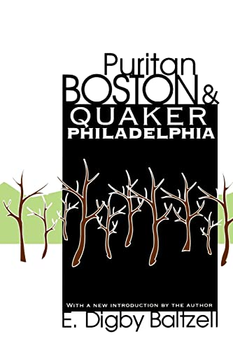 9781560008309: Puritan Boston and Quaker Philadelphia