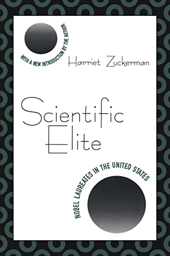 9781560008552: Scientific Elite: Nobel Laureates in the United States (Library of Conservative Thought)