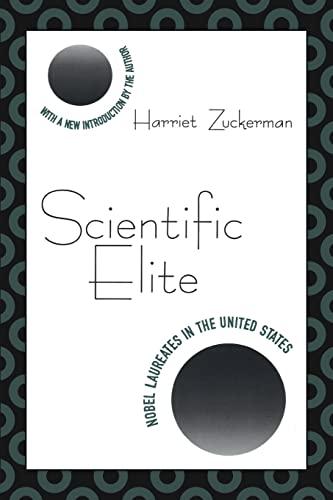 9781560008552: Scientific Elite: Nobel Laureates in the United States (Foundations of Higher Education)