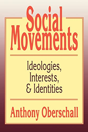 9781560008682: Social Movements: Ideologies, Interest, and Identities