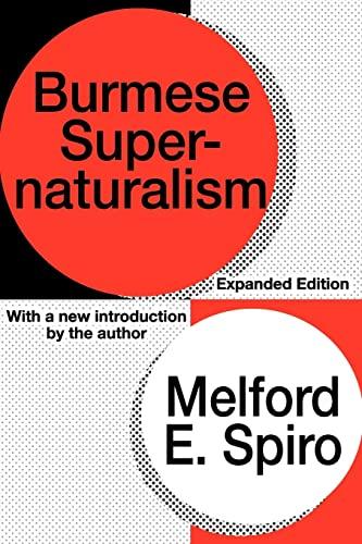 9781560008828: Burmese Supernaturalism