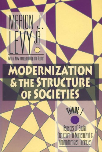 9781560008934: Modernization and the Structure of Societies: Aspects of Social Structure in Modernised and Non-modernised Societies