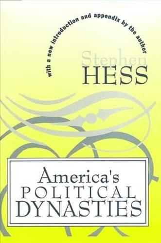 9781560009115: America's Political Dynasties