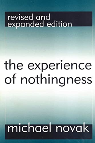 9781560009887: The Experience of Nothingness