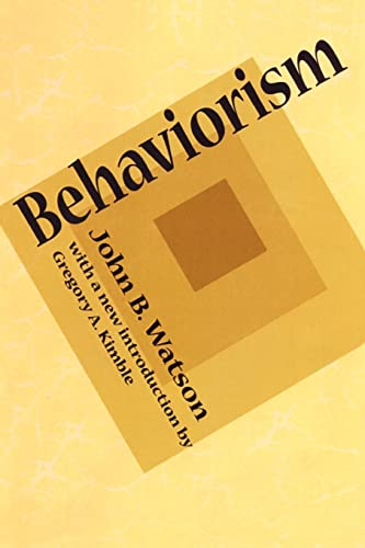 9781560009948: Behaviorism