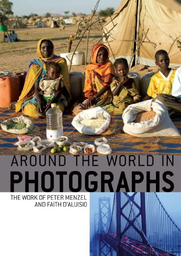 9781560046806: Aroung the World in Photographs: The Work of Peter Menzel and Faith D'Aluisio