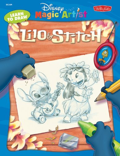 Learn to Draw Lilo and Stitch