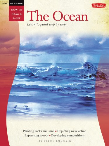 9781560101437: Oil: the Ocean (How to Draw & Paint/Art Instruction Prog)
