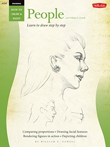 Drawing: People with William F. Powell: Learn to paint step by step (How to Draw & Paint): ...