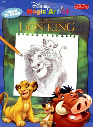 9781560101659: Disney's How to Draw the Lion King