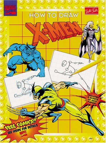 9781560102069: How to Draw X-Men