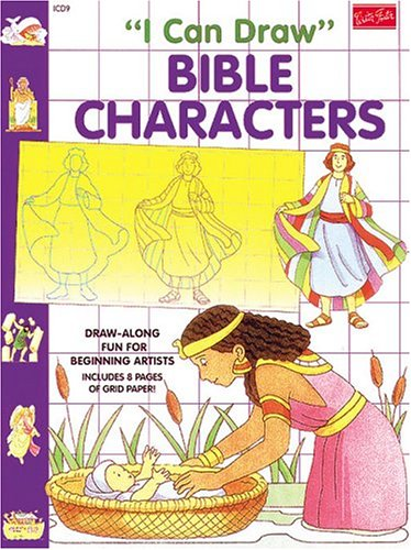 9781560102373: I Can Draw Bible Characters (I Can Draw Series)