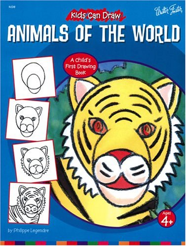 9781560102762: Kids Can Draw Animals of the World (Kids Can Draw Series)