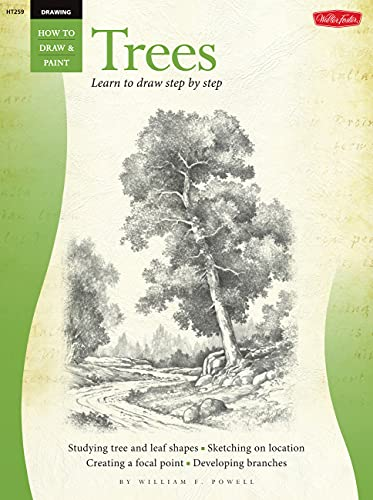 9781560103455: Drawing: Trees with William F. Powell