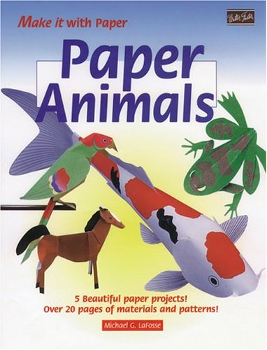 9781560103851: Paper Animals (Make It With Paper Series)
