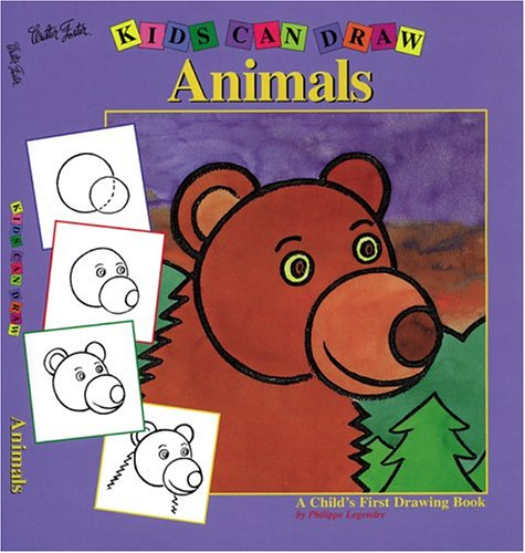 9781560104445: Kids Can Draw Animals