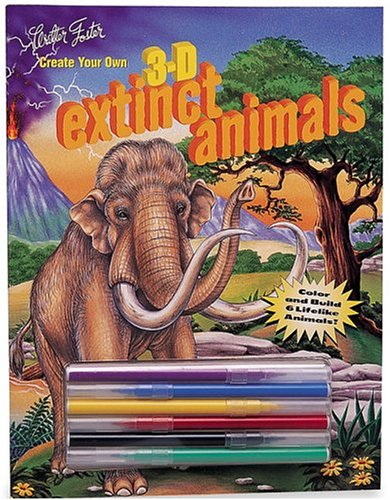 9781560105343: Create Your Own 3-D Extinct Animals
