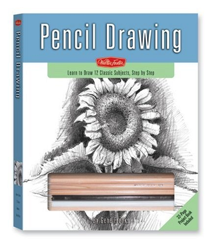 Pencil Drawing Kit: Learn to Draw 12 Classic Subjects, Step by Step (Walter Foster Drawing Kits) (1560105712) by Gene Franks