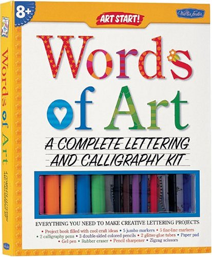 9781560106111: Create Your Own Words of Art (Art Start! Kits)