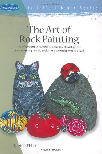 9781560107248: Art of Rock Painting (Artist's Library Series)