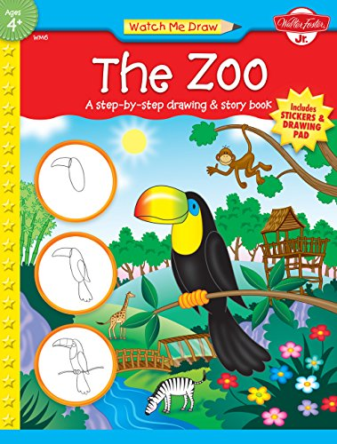 9781560107989: Watch Me Draw: The Zoo