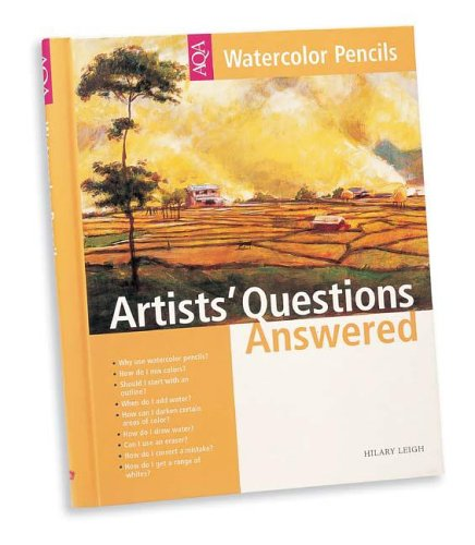9781560108092: Artists Questions Answered Watercolor Pencils