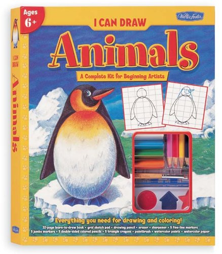 9781560108108: Animals Kit (I Can Draw Kits)