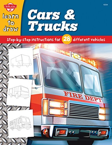 9781560108191: Cars & Trucks: Step-by-step instructions for 28 different vehicles (Learn to Draw)