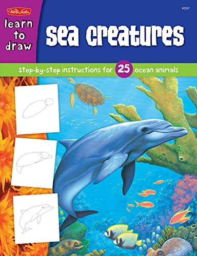 9781560108634: Sea Creatures (Learn to Draw)
