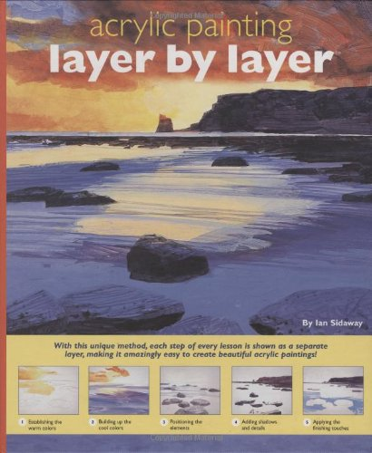 Layer by Layer Acrylic Painting: Ian Sidaway
