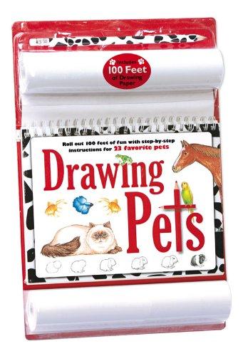 9781560109389: Drawing Pets (paper roll Kit) (100 Feet of Fun Drawing Kits)