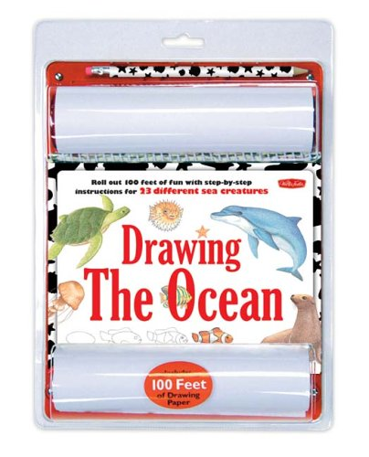 9781560109938: Drawing the Ocean: Roll Out 100 Feet of Fun With Step-by-step Instructions for Your 23 Favorite Ocean Animals! (100 Feet of Fun Series)