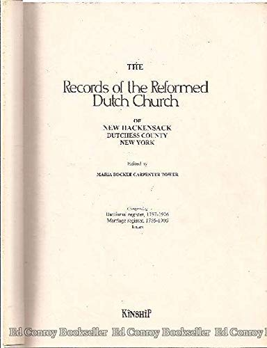 9781560121268: The Records of the Reformed Dutch Church of New Hackensack Dutchess County New York