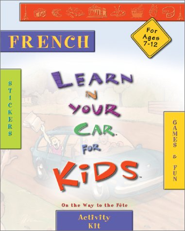 French with Book and Sticker and Cassette(s) and Other (Learn in Your Car Kids)