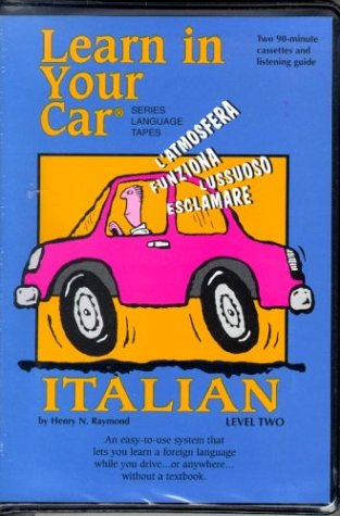 9781560151319: Learn In Your Car: Italian Level Two