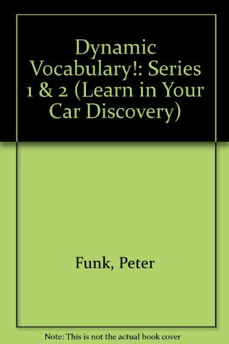 9781560152118: Dynamic Vocabulary (Learn in Your Car Discovery)