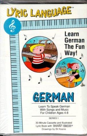 9781560152279: Lyric Language-German (Lyric Language Audio Series 1)