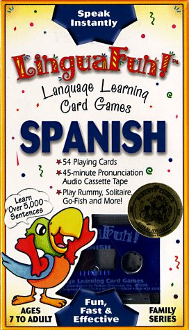 9781560155904: Spanish: Language Learning Card Games with Book and Cards (LinguaFun Family) (Spanish Edition)