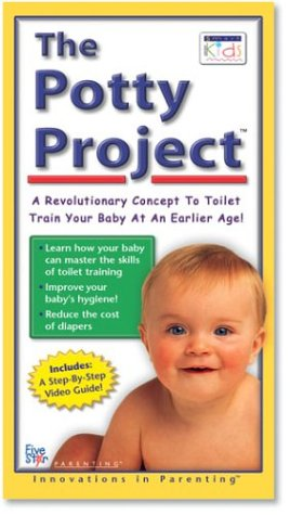 9781560158929: The Potty Project: A Revolutionary Concept To Toilet Train Your Baby At An Earlier Age [VHS]