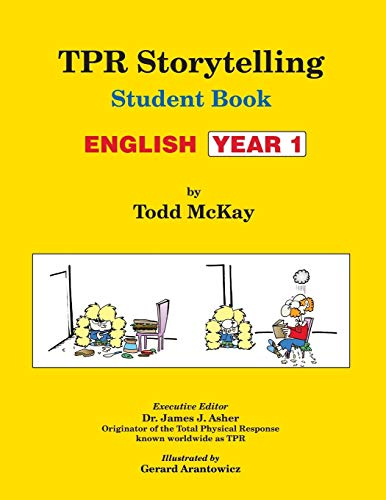 9781560180265: TPR Storytelling Student Book: English Year 1