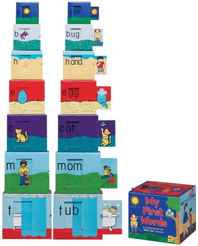 9781560215158: My First Words Slide n See Building Blocks