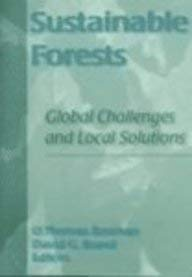 Sustainable Forests: Global Challenges and Local Solutions (Monograph Published Simultaneously As ...
