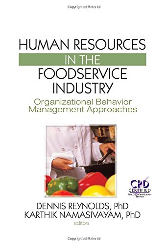 9781560221449: Human Resources in the Foodservice Industry: Organizational Behavior Management Approaches