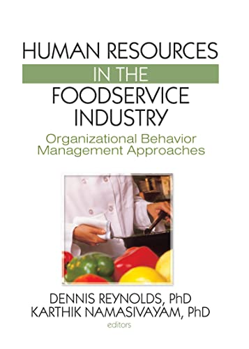 9781560221456: Human Resources in the Foodservice Industry: Organizational Behavior Management Approaches