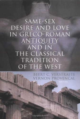 9781560236030: Same-Sex Desire and Love in Greco-Roman Antiquity and in the Classical Tradition of the West
