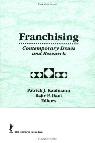 9781560247296: Franchising: Contemporary Issues and Research